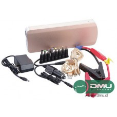 Partidor arrancador con Batería de Litio 12V 18000mAh True Power (Salidas para USB 5V y Notebook 19V)